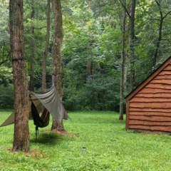 Campsites at Dravo Hiker-Biker Campground