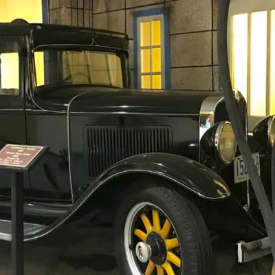Antique Car at Allegany Museum