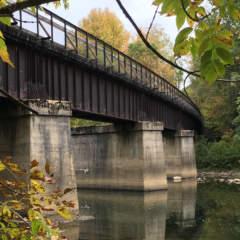 Harnedsville Bridge over the Casselman River