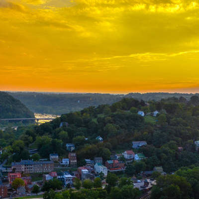 Harpers Ferry from overlook