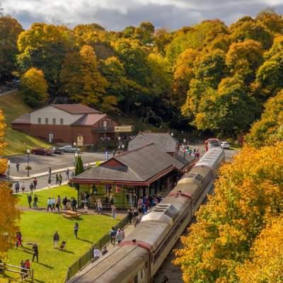 Frostburg in the autumn