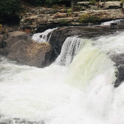 Ohiopyle Falls in Ohiopyle State Park