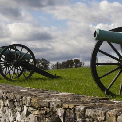 Cannons at Antietam National Battlefield