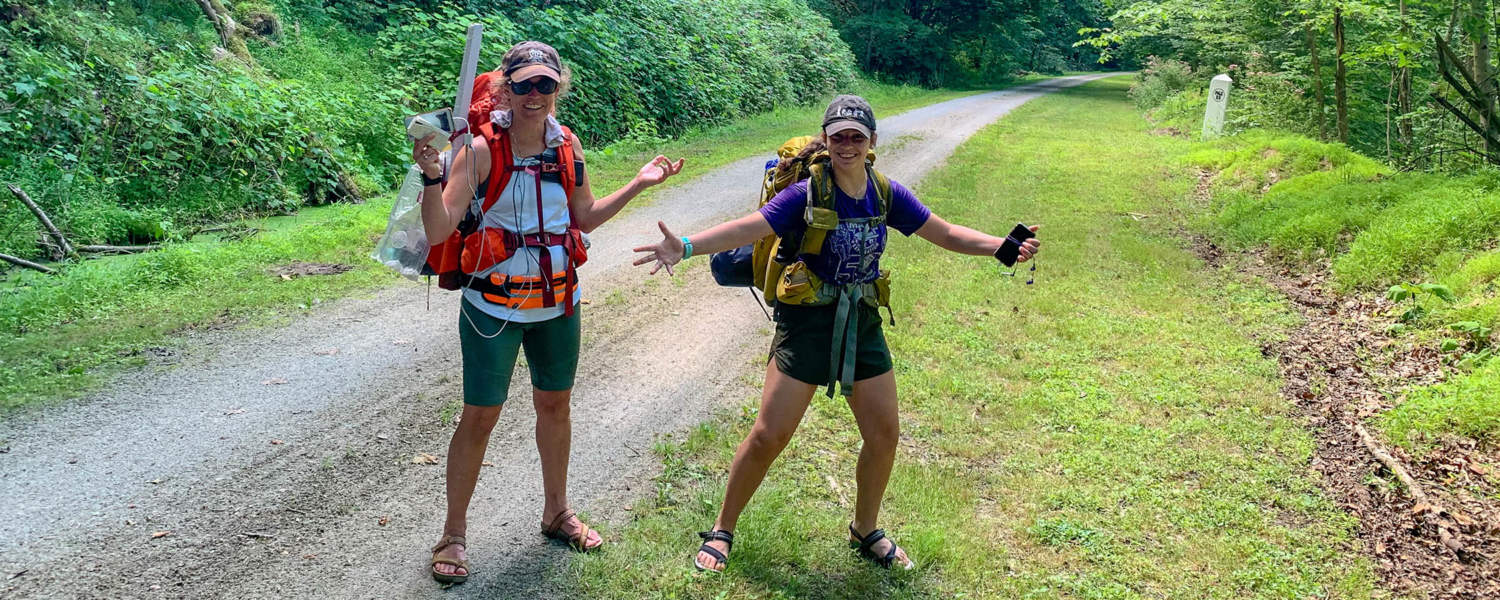 Hikers on the GAP Trail