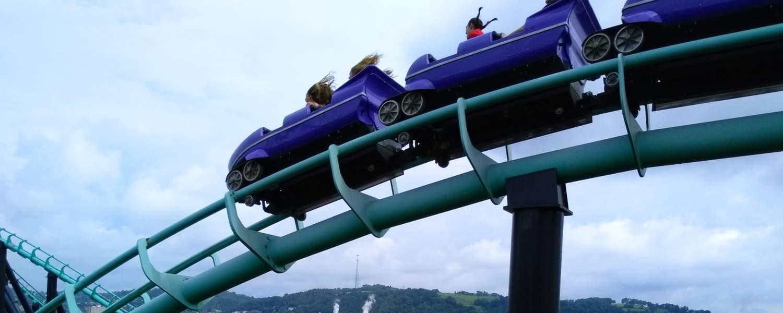 Phantom's Revenge rollercoaster at Kennywood Park